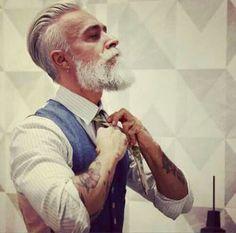 Image de tattoo, man, and beard