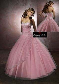 New Sweetheart Long Prom Dresses Beading Quinceanera Dresses Ball Gown Size 14 Light Pink Wedding Dress, Light Pink Bridesmaid Dresses, Pink Wedding Dresses, Sweetheart Wedding Dress, Formal Dresses For Weddings, Wedding Dress Sizes, Dress Formal, Dress Wedding, Bridal Gown