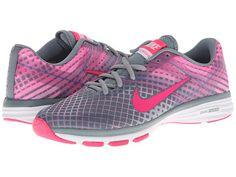 Nike Dual Fusion TR 2 Print Aviator Grey/Light Ash Grey/Ion Pink/Hyper Pink - Zappos.com Free Shipping BOTH Ways
