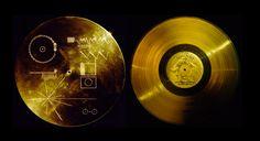 Ouça o lendário disco dourado que viaja pelo cosmos a bordo das naves Voyager