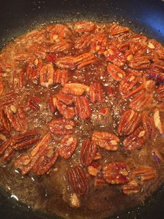 Spiced Walnuts Recipe, Candied Walnuts For Salad, Candied Pecans Recipe, Candied Bacon, Walnut Recipes, Pecan Recipes, Cooking Recipes, Diabetic Recipes, Keto Recipes