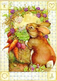 Bunny Salad By Leesa Whitten
