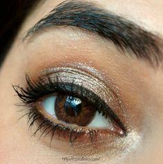 Sparkly Neutral Eyes