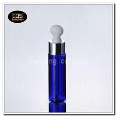 empty dropper blue skincare bottle plastic, online wholesale e liquid dropper blue PET bottles Cosmetic Containers, Pet Bottle, Skin Care, Cosmetics, Tools, Empty, Bottles, Blue