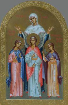 Tattoo T Shirts, Byzantine Icons, Religious Icons, Orthodox Icons, Art Decor, Saints, Prayers, Wallpaper, Painting