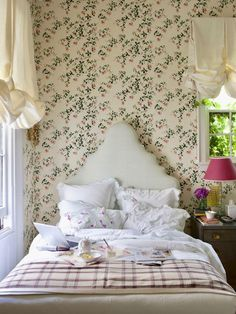 Style Cottage Anglais, Style Anglais, New York Bedroom, Contemporary Bedroom, Modern Bedroom, Master Bedroom, Bedroom Romantic, Bedroom 2018, Bedroom Brown
