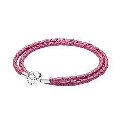 Pandora Lederarmband für Charms pink 590734CHP https://www.thejewellershop.com/ #pandora #lederarmband #charmarmband #pink #silber #schmuck #armband #silver #jewelry #charms #bracelet