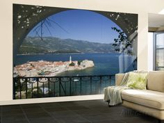Old Town, Budva, Montenegro Wall Mural – Large by Walter Bibikow - at AllPosters.com.au