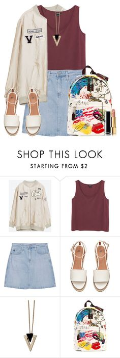 """""""Untitled #1625"""" by anarita11 ❤ liked on Polyvore featuring Monki, AG Adriano Goldschmied, Chicnova Fashion, Marc Jacobs and Chanel"""
