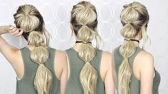 How to: Easy Bubble Ponytail | Summer hair tutorial