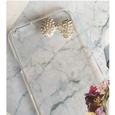 Luxury bow phone case!!. 💛✨💎💝