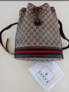 6d8c9f6d062d Gucci Bags, Vintage Gucci, Dust Bag, Purses And Handbags, Gucci Purses,