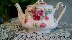 Teapot Arthur Wood & Son Staffordshire England est 1884 #6320