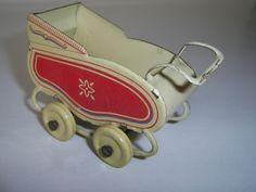 Vintage Tinplate Dolls House Pram | eBay