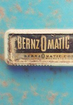 Type Hunting #bernzomatic #logo in Modern Type