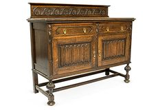 Antique Oak Buffet on OneKingsLane.com