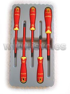 Set destornilladores aislados BahcoFit B220.005 #herramientas #bricolaje #taller #BAHCO