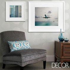 Os tons de azul evidentes nos adornos conferem delicadeza à composição