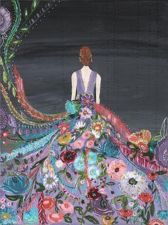 Silent Melody II Art Print 10.5 x 14 by BariJ on Etsy, $26.00