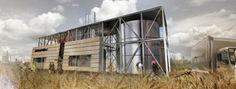 Πρόταση 272902 για τον Αρχιτεκτονικό Σχεδιασμό κτιριακού οργανισμού που θα στεγάσει Μονάδα Παραγωγής Ηλεκτρικής Ενέργειας ισχύος 1Mw από Φυτική Βιομάζα (Woodchip), ενόψει της έναρξης υλοποίησης εγκατάστασης Μονάδων 1Mw από την Dos Energy .