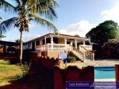 Immobilien Venezuela villa Playa El Agua  Haus kaufen Große Villa mit Pool und Meerblick