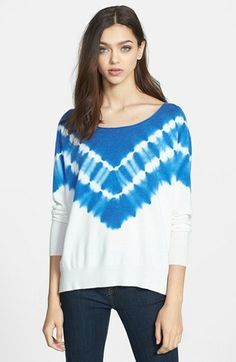 Joie 'Emari C' Tie Dye Sweater available at #Nordstrom