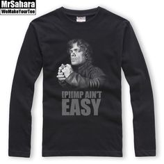 688d151df Collectibles   Merchandise · Marvelous Longsleeve mens Pimp Ain t Easy  Tyrion Game of Thrones – Search tags