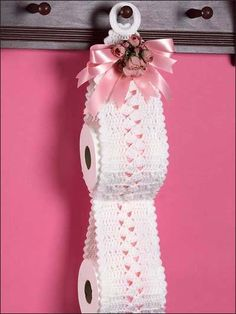 Toilet Paper Roll Holder free pattern 10 free patterns