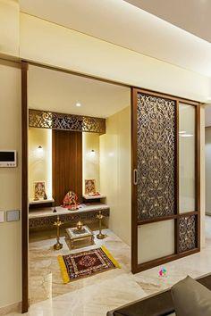Temple Design For Home, Home Room Design, Living Room Design Modern, Luxury Living Room, Living Room Partition Design, Kitchen Room Design, Pooja Room Design, Room Design, Room Door Design