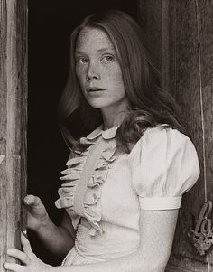 """Sissy Spacek (born Mary Elizabeth Spacek; December 25, 1949) is an American actress and singer. She came to international prominence for her roles as Holly Sargis in Terrence Malick's 1973 film Badlands, and as Carrie White in Brian De Palma's 1976 horror film Carrie (based on the first novel by Stephen King) for which she earned her first Academy Award nomination. """"I never felt like I left New York, though. If you've lived in a place and loved it, you never feel like you left it."""""""