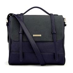 Charles & Keith blue bag. Casual and cool
