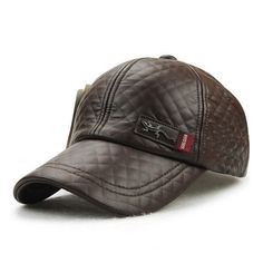 Xthree New fashion high quality faux leather Cap fall winter hat casual  snapback baseball cap for men women hat wholesale 188516b2aea