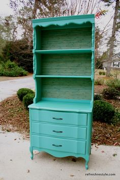 Great idea for a makeover on furniture