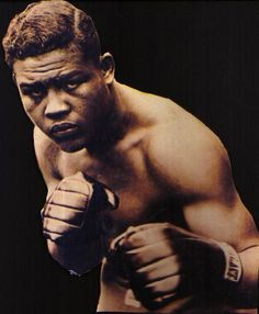 Joe Louis, The Brown Bomber, Heavyweight World Champion from 1937 to 1949