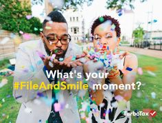 Don't wait another second to get your #TaxesDone. File now and celebrate your #FileAndSmile moment for your chance to win prizes up to $500! The sooner you enter, the bigger the reward! http://tax.sh/1NBRAon