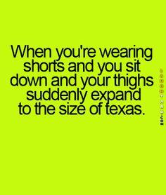 Wearing Shorts                                                       …