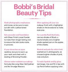 Bobbi Brown Bridal Beauty School - I need water proof eyeliner and mascara! And a lip pencil!