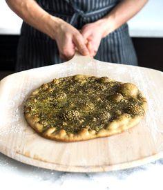 Hummus + Za'atar Flatbread