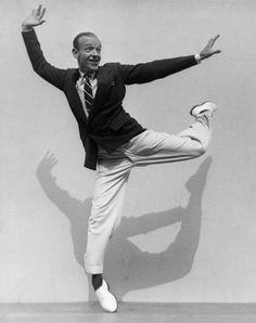 Martin Munkacsi, Fred Astaire on his Toes, 1936, Courtesy the Collection of F.C. Gundlach.