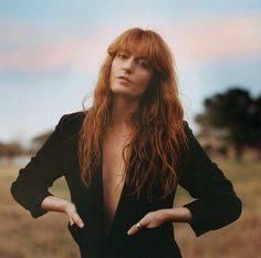 Our favorite copperhaired beauty #musicsmyreligion #music #florenceandthemachine