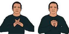 British Sign Language Dictionary, English Sign Language, Hand Sign Language, Sign Language Alphabet, Learn Bsl, Learn To Sign, Learning, Period, Hearing Aids