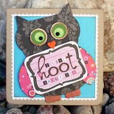 paper owl card