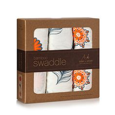 Aden + Anais Mela Bamboo Swaddles These are terrific blankets but not the best for actual swaddling once your baby starts to fight the swaddle.