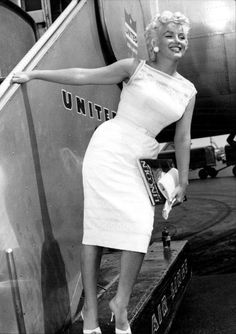 """Marilyn Monroe, 1955. """