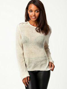 Marielle Sweater - Jeane Blush - Beige - Gensere - Klær - Kvinne - Nelly.com