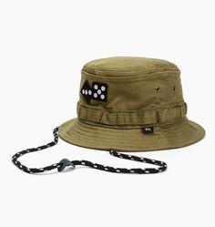 3b665c5a05c caliroots.com Army Bucket Hat Stussy 132641-0403 148714 Mens Bucket Hats