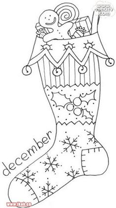 Awesome Most Popular Embroidery Patterns Ideas. Most Popular Embroidery Patterns Ideas. Cross Stitch Embroidery, Hand Embroidery, Embroidery Designs, Vintage Embroidery, Colouring Pages, Coloring Books, Christmas Colors, Christmas Crafts, Prim Christmas