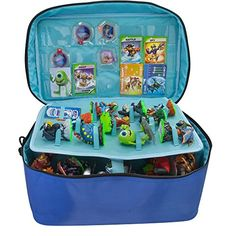 Extra Large Storage and Carrying Case For Skylanders / Disney Infinity / Nintendo Amiibo Figures - (PS4/PS3/Xbox One/Xbox 360/Nintendo 3DS/Wii U)  sc 1 st  Pinterest & ORB Storage And Carrying Case Bag For Skylanders Portal Figures ...