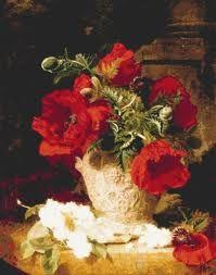 λουλουδια ζωγραφικη