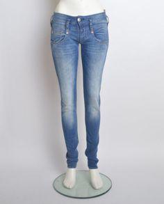 Herrlicher-Damen-Jeans-034-Pitch-Slim-034-Bliss-5303-D9666-Hose-NEU-25-26-27-L34 Herrlicher Jeans, Skinny Jeans, Pitch, Bliss, Pants, Fashion, Clothing Accessories, Fashion Women, Trousers